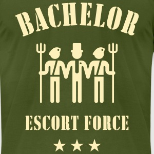 Bachelor Escort Force (Stag Party) T-Shirts - Men's T-Shirt by American Apparel