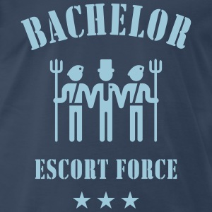 Bachelor Escort Force (Stag Party) T-Shirts - Men's Premium T-Shirt