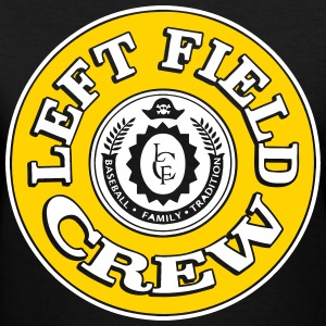 Left Field Crew Women's T-Shirts - Women's V-Neck T-Shirt
