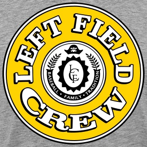 Left Field Crew T-Shirts - Men's Premium T-Shirt