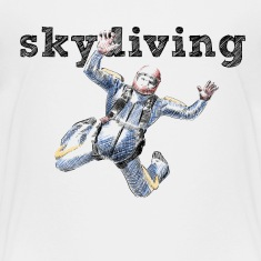 skydiving Baby & Toddler Shirts