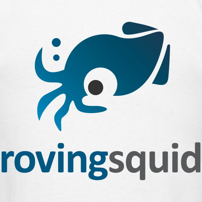 Roving Squid Men's Logo T-shirt