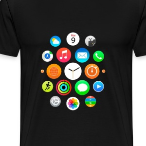 Apple Watch Shirt - Men's Premium T-Shirt