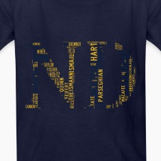 All Time Notre Dame Football Greats Kid's Basic T-
