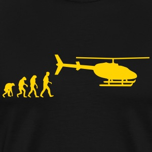 helicopter evolution T-Shirts - Men's Premium T-Shirt