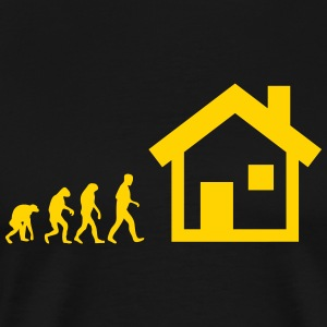 house evolution T-Shirts - Men's Premium T-Shirt