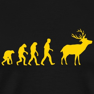 deer evolution T-Shirts - Men's Premium T-Shirt