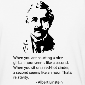 Einstein Quote T-Shirts - Baseball T-Shirt