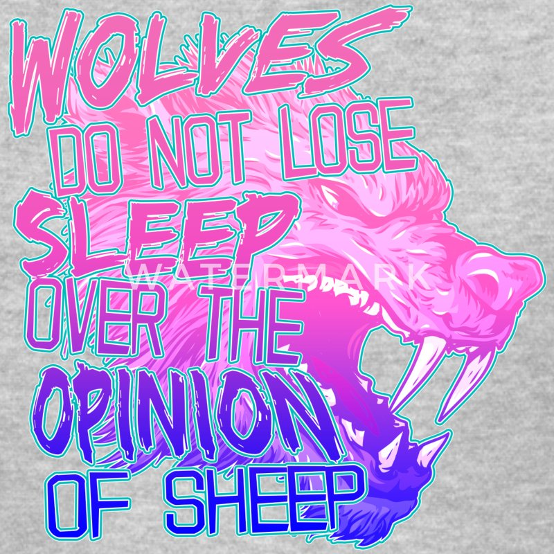 Wolves Don't Lose Sleep Women's T-Shirts - Women's T-Shirt