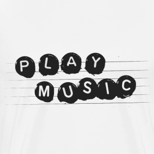 play Music - Men's Premium T-Shirt