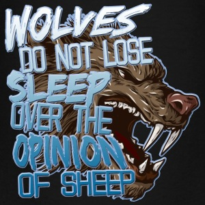 Wolves and Sheep Kids' Shirts - Kids' Premium T-Shirt