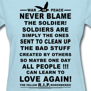 The Soldier. - Women's T-Shirt
