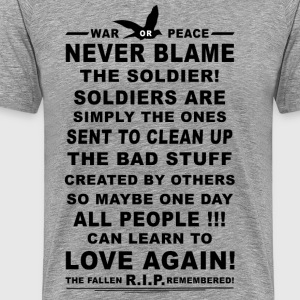 The Soldier. - Men's Premium T-Shirt