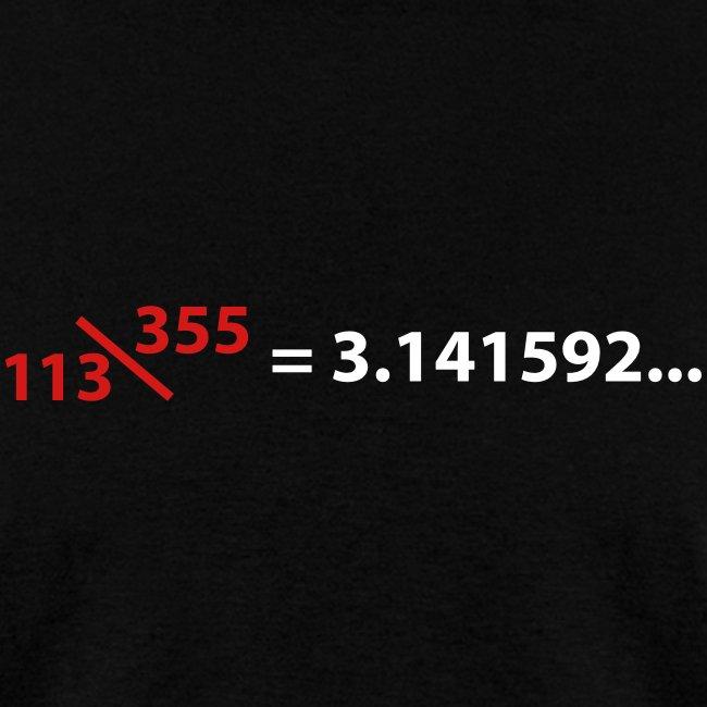 113\355 = pi