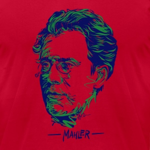 Mahler tee - Men's T-Shirt by American Apparel