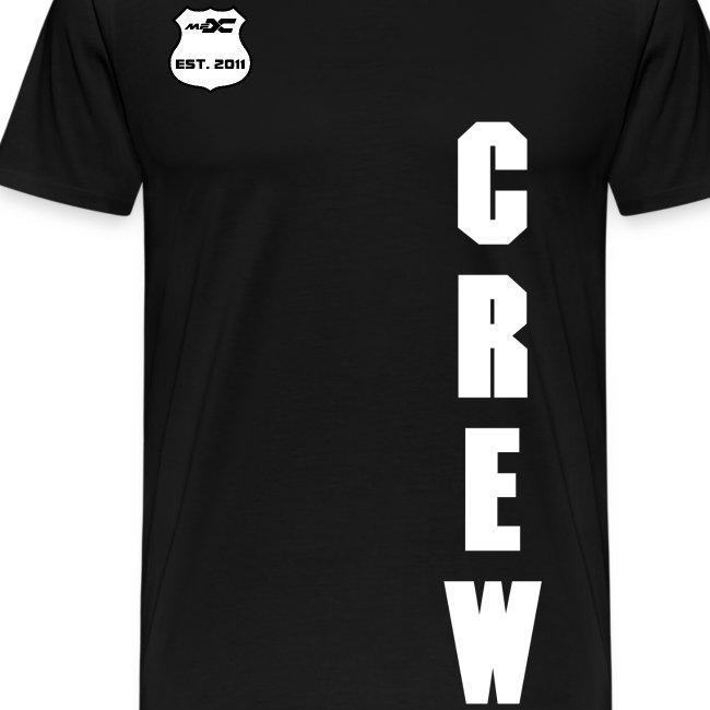 MFX CREW - CML WHITE ON BLACK