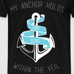Christian Anchor Shirt - Men's Premium T-Shirt