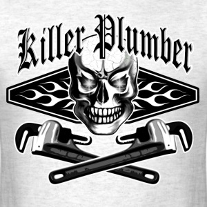 Plumber Skull 3.1: Killer Plumber - Men's T-Shirt