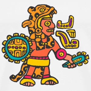 Aztec warrior - Men's Premium T-Shirt