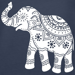 indian elephant Tanks - Women's Premium Tank Top