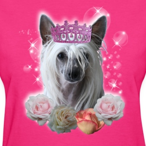 chinese crested princess Women's T-Shirts - Women's T-Shirt