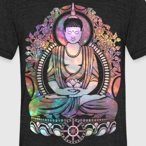 Cosmic Buddha 2 T-Shirts - Unisex Tri-Blend T-Shirt by American Apparel