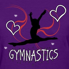 Gymnastics Women's T-Shirts