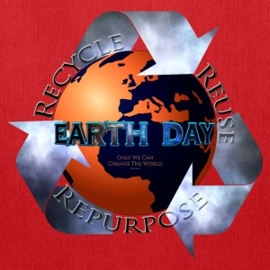 Earth Day Change The World Bags & backpacks - Tote Bag