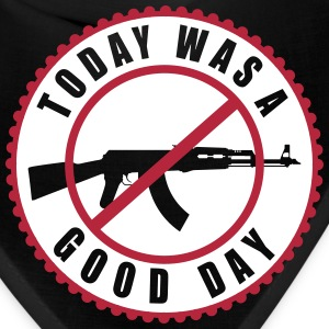 A Good Day, No AK Vector 2 Color Design - Bandana