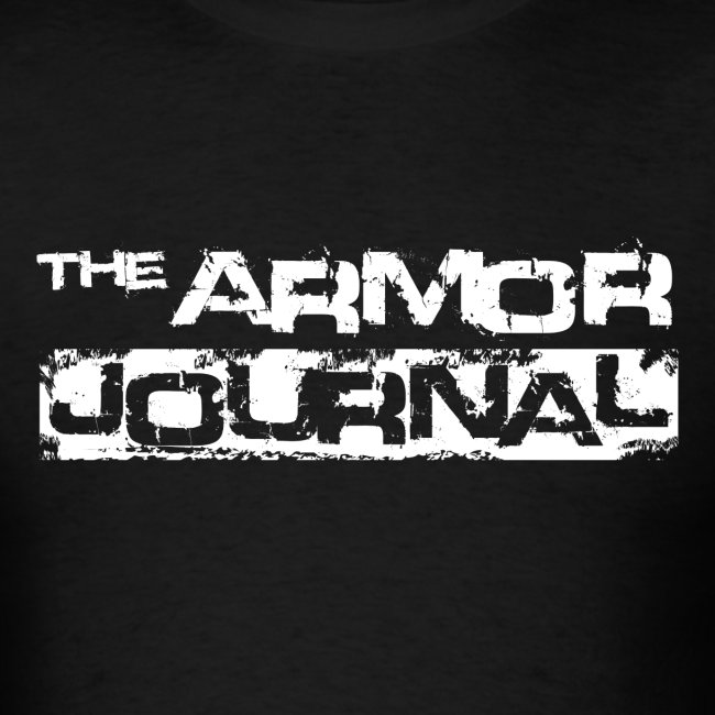 The Armor Journal t-shirt.