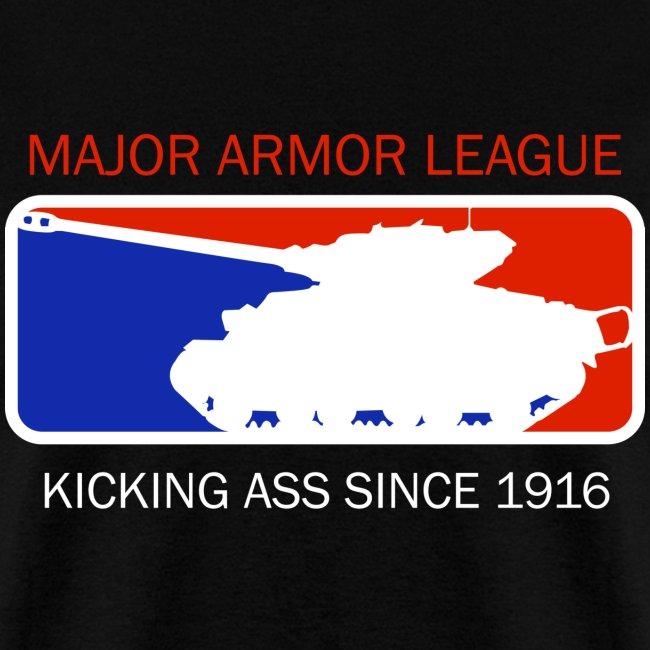 Major Armor League t-shirt
