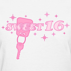 Sweet 16 Key Women's T-Shirts - Women's T-Shirt