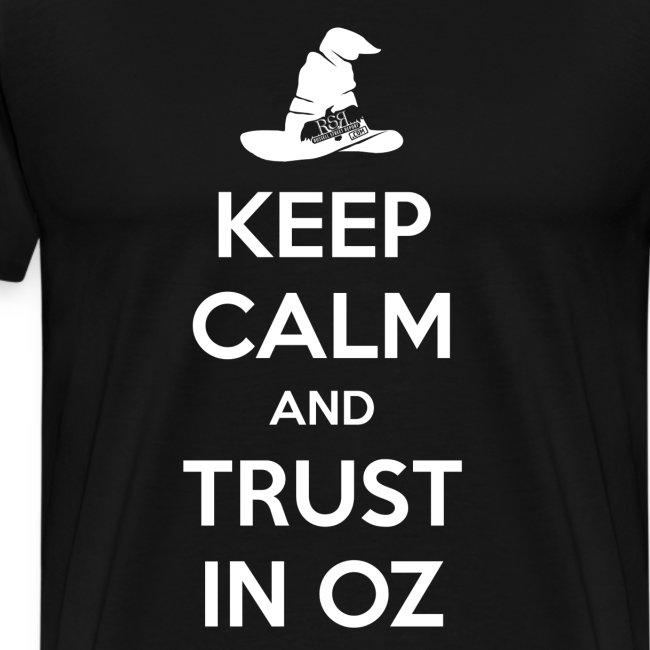 Keep Calm Oz - Black