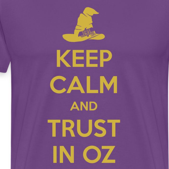 Keep Calm Oz - Purple/Yellow