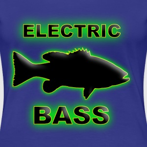 Electric Bass. - Women's Premium T-Shirt