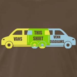 Van Diagram T-Shirts - Men's Premium T-Shirt