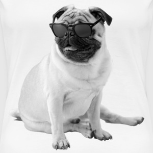 The Shady Pug - Women's Premium T-Shirt
