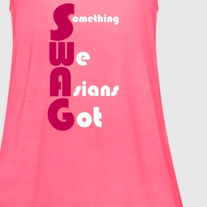 SWAG - Something We Asians Got Tanks - Women's Flowy Tank Top by Bella