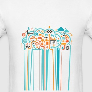 Color Drip by TeeSnaps - Men's T-Shirt