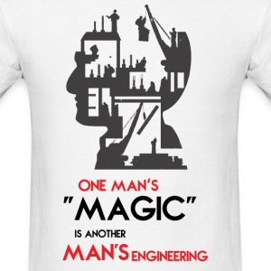 Magic and Engineering by TeeSnaps - Men's T-Shirt