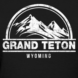Grand Teton Wyoming Women's T-Shirts - Women's T-Shirt