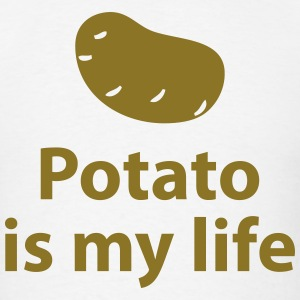 Potato is my life T-Shirts - Men's T-Shirt