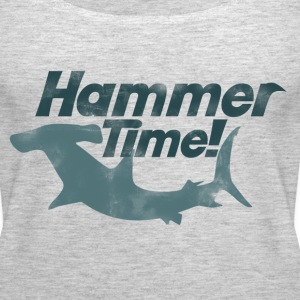 Hammer time shark week - Women's Premium Tank Top