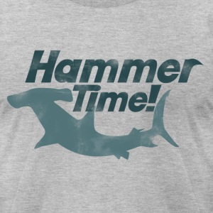 Hammer time shark week - Men's T-Shirt by American Apparel