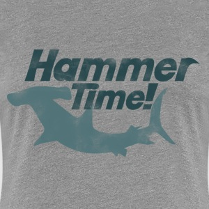 Hammer time shark week - Women's Premium T-Shirt