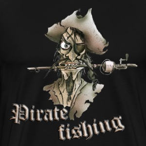 pirate fishing - Men's Premium T-Shirt