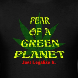 Fear Green Planet 2 T-Shirts - Men's T-Shirt
