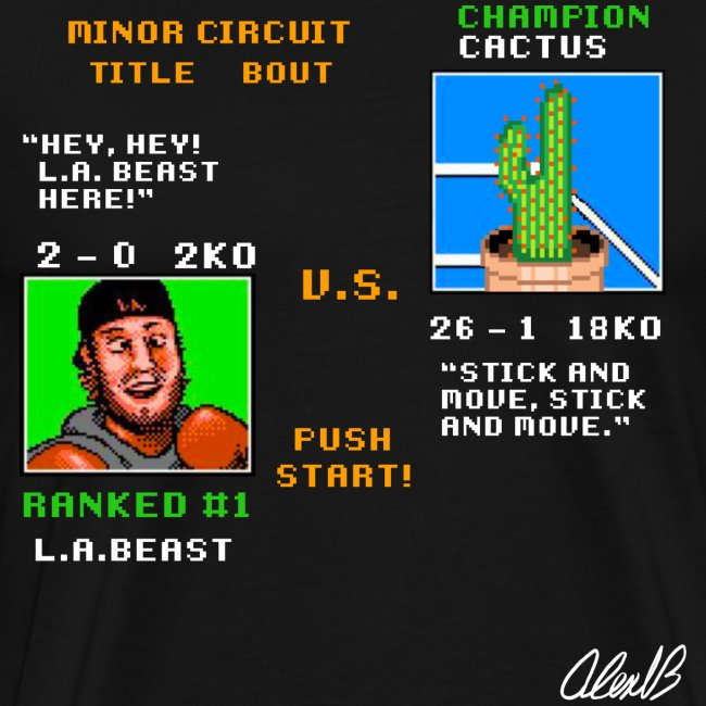 Beast vs. Cactus