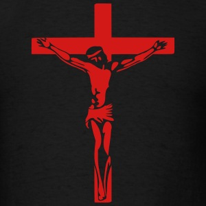 Jesus Crucifixion T-Shirts - Men's T-Shirt