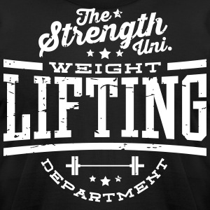 TSU - Weightlifting DEPT. T-Shirts - Men's T-Shirt by American Apparel